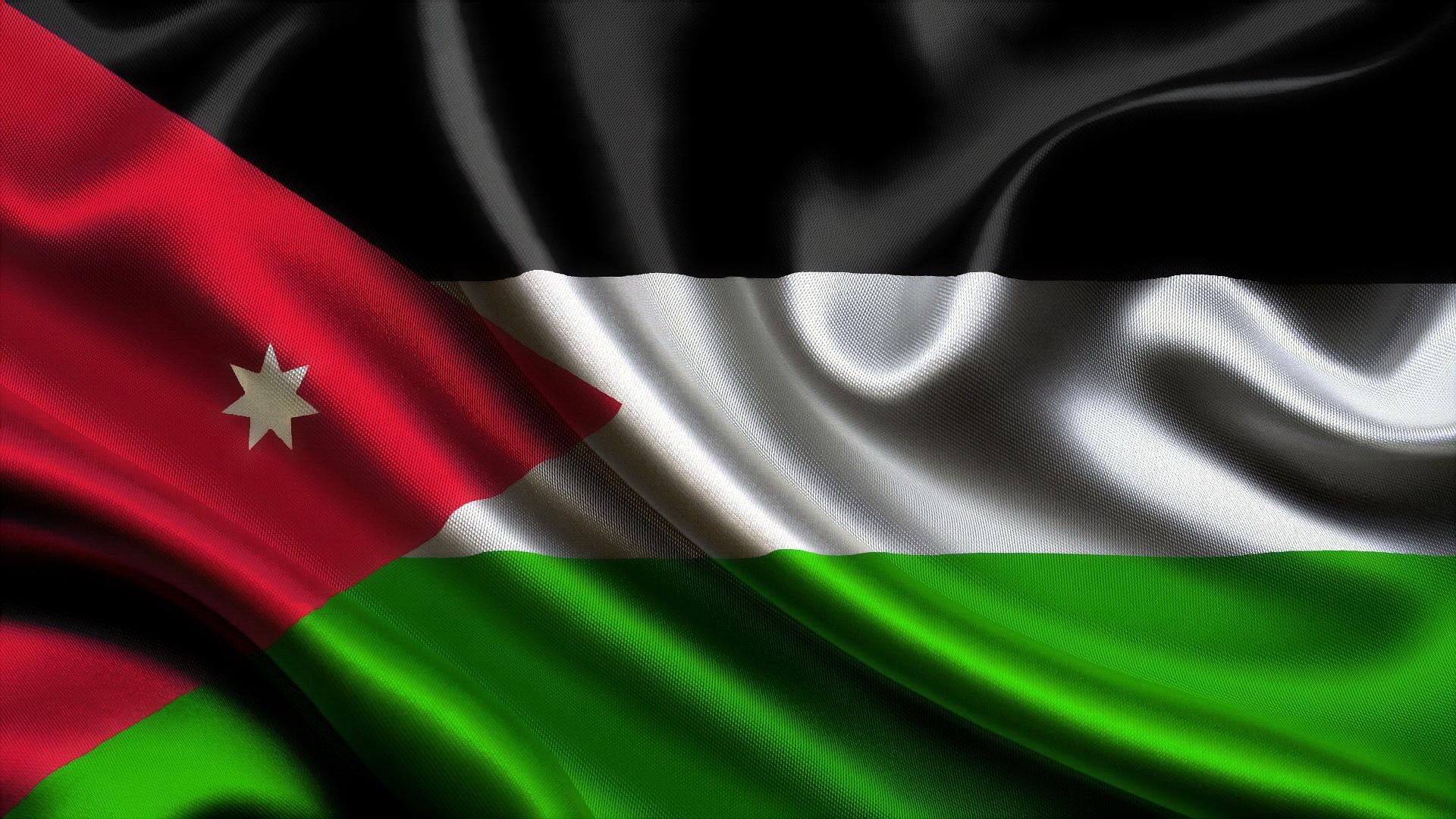 Флаг,Иордании, Иорданский флаг, флаг Иорданского Хашимитского Королевства,flag of Jordan